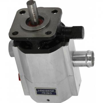 12V Pompe Hydraulique 7L Cylindre Hydraulique Simple effet 2000W avec Serrure