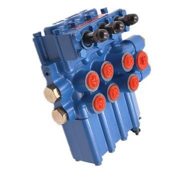 2 distributeurs hydrauliques 11gpm 40L 1x DA 1x SA Simple Double
